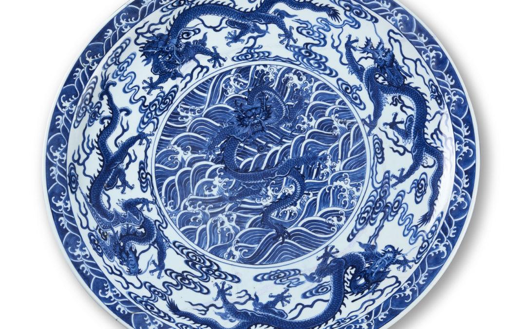 Piatto Cina, XVIII sec.