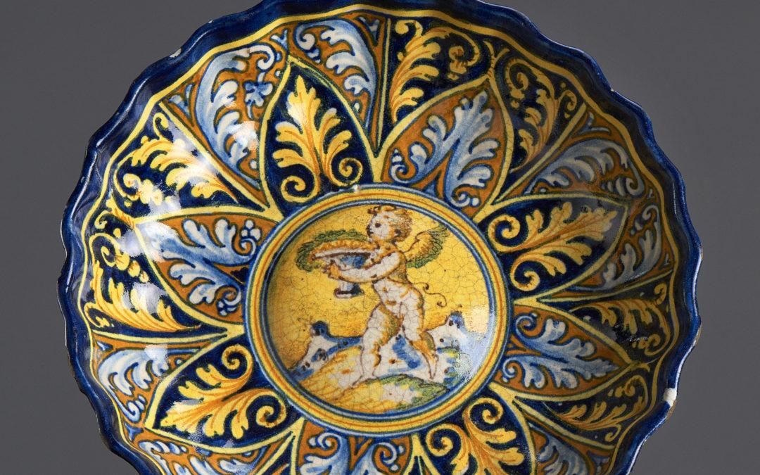 Crespina in maiolica, Faenza
