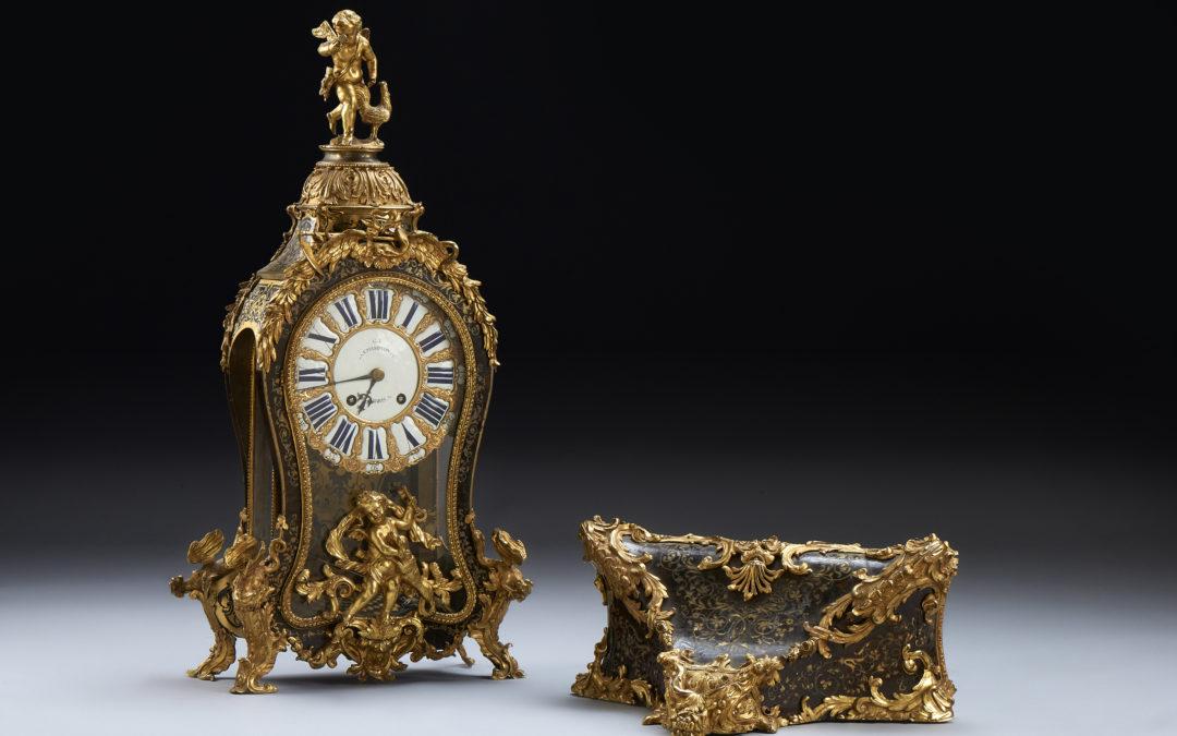 Orologio Cartel, bronzo e tartaruga