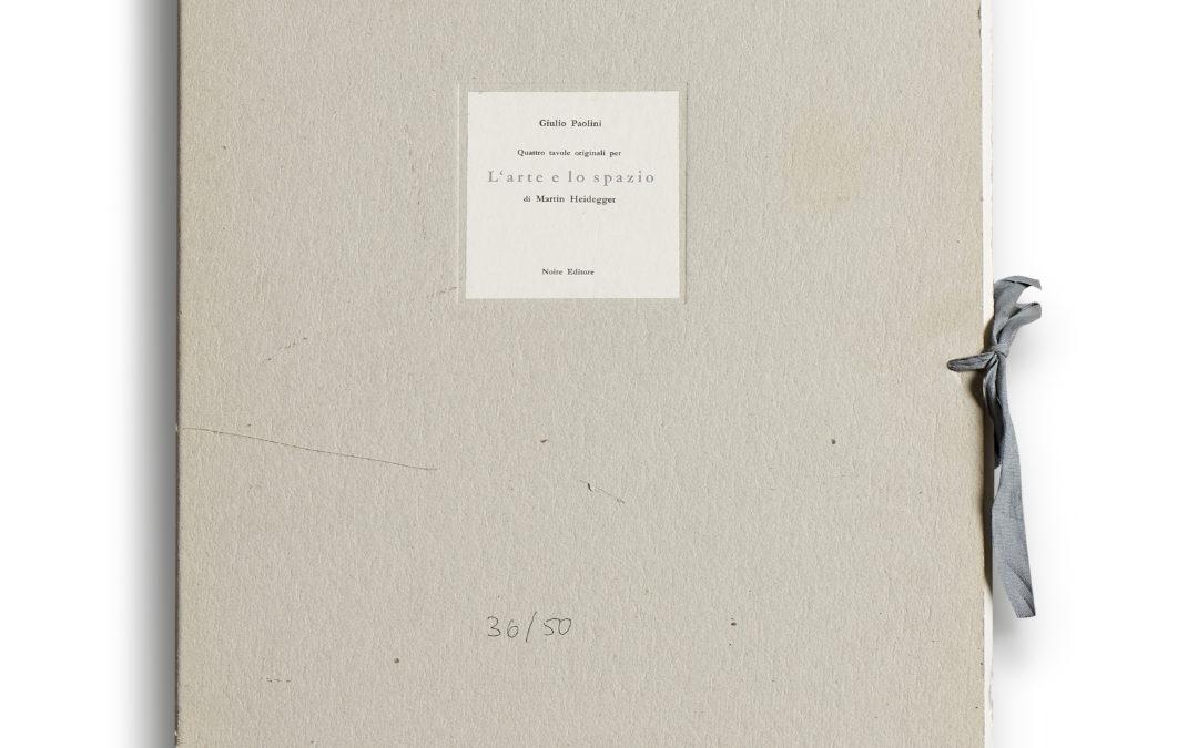 Giulio Paolini – L'arte e lo spazio