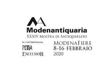 XXXIV Modenantiquaria    8-16 Febbraio 2020